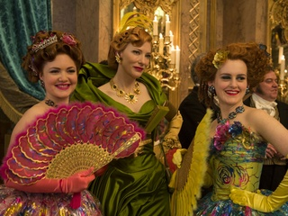 Cate Blanchett, Sophie McShera and Holliday Grainger in Cinderella