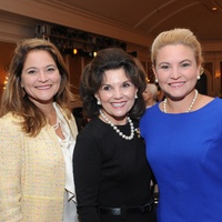 15 Larkin McReynolds, from left, Linda McReynolds and Merritt Marinelli at the Assistance League luncheon October 2014