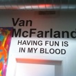 Van McFarland Houston artist Having Fun is is My Blood Twitter profile pic
