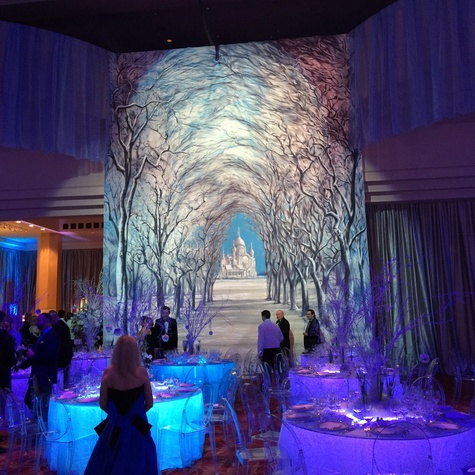 Houston Ballet Ball, Feb. 2016,  decor