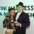 157 Carla Cotropia and Tom Edens at the Craft Museum Martini Madness party January 2015