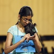 Shobha Dasari at Houston Public Media Spelling Bee