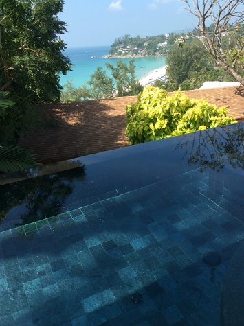 Jane Howze Phuket Thailand December 2013 Room with a view