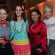 Maria Bassa, from left, Beth Muecke, Debbie Festari and Rebecca Allen at the Hope Stone Gala March 2014