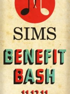 Austin photo: Event_SIMS Benefit Bash_Poster