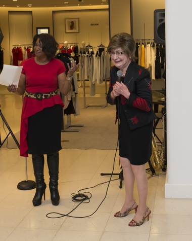 74 Deborah Duncan, left, and Cora Sue Mach at Houston Sweethearts at Saks February 2015