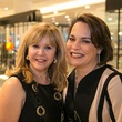 Cyndy Garza Roberts, left, and Rosi Hernanez at the Latin Women Initiative's kick-off luncheon February 2014