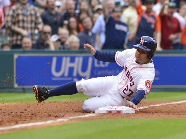 Jose Altuve Astros third base