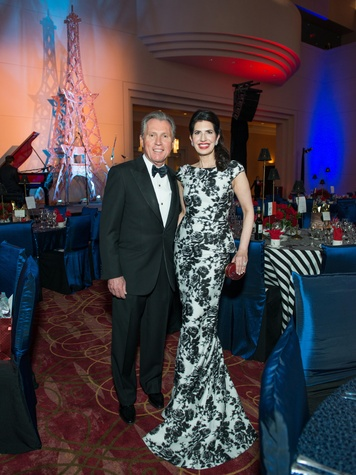 4 Martin Fein and Dr. Kelli Cohen Fein at the Moores School Gala March 2015
