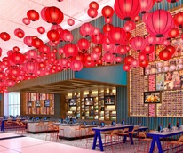 Yume restaurant at Bush Intercontinental Airport