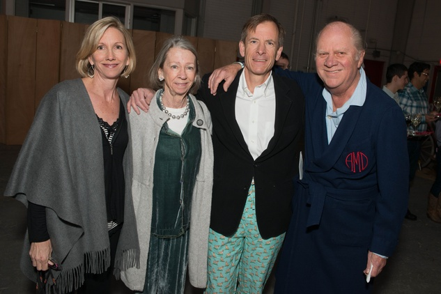 Sarah Hastings, from left, Kitty Neuhaus, John Hastings and Dossett McCullough at the Hope Stone Gala March 2014