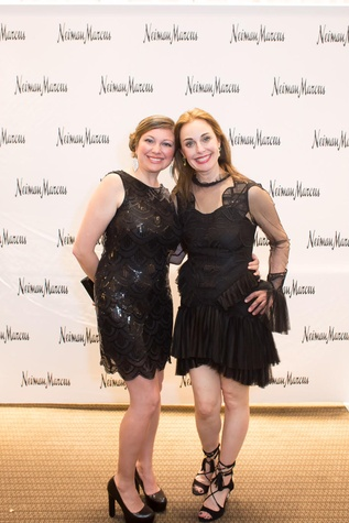 Claudia Echeverria, Rebecca Brinkley at International Soiree Kickoff