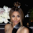 Ciara with Moet crown October 2013