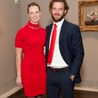 2 Ana Buckman and Andrew Abendshein at the MFAH Impressionism dinner December 2013