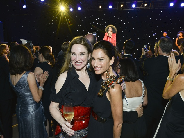 Becca Cason Thrash and Tracey Amon at Louvre gala