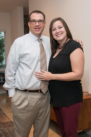 Houston, HGO Young Patrons event, October 2015, Bryan Bagley, Jessica Bagley