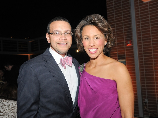 9 Drs. Randall and Cyrstal Wright at the Dress for Success 15th anniversary party October 2013