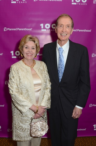 Planned Parenthood Gala, Linwood and John Olson