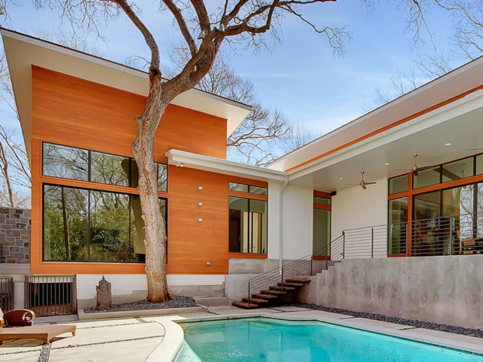 6166 Preston Creek, Spring Modern Home Tour
