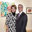 10 Lynne and Jim Vanderhider at the Art on the Avenue benefit November 2014
