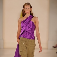 Ralph Lauren plays with khaki and color in glamorous safari collection -  CultureMap Dallas a0debb96ca