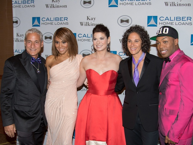 Greg Louganis, Deborah Cox, Debra Messing, Dana Goldberg, Todrick Hall