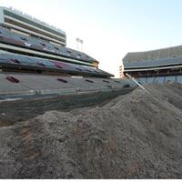 Texas A&M University Kyle Field construction Aggies