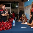 Texans Cheerleaders Swimsuit Calendar party