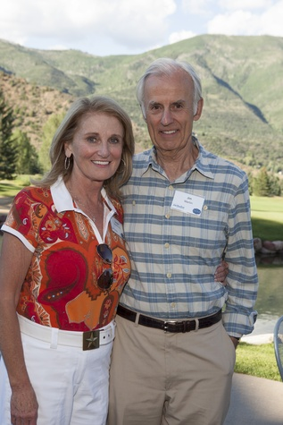 Denise Monteleone and Jim Martin Houston Methodist in Aspen July 2014
