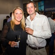 14 Mariclaire Rebman and Ross Brendel at the MFAH Art Crowd party September 2014