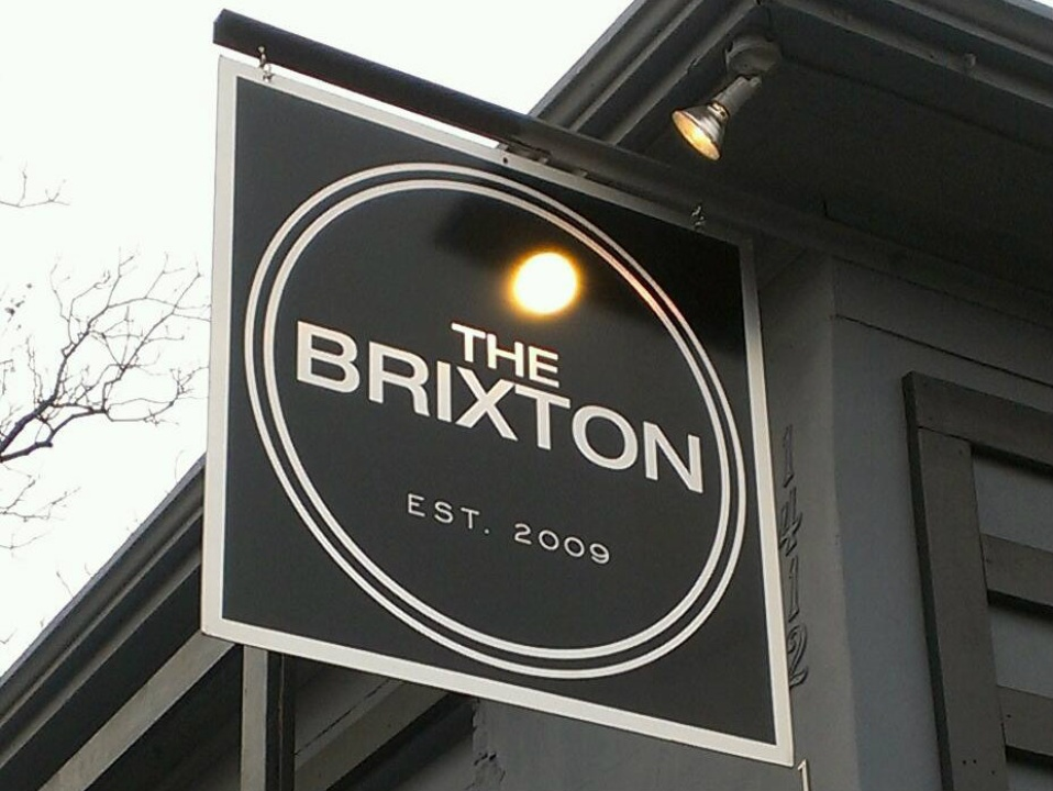 The Brixton sign
