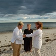 Lesbian couple getting married in Cape Cod