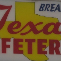 Texas Cafeteria sign