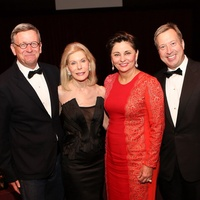 Jerry Fischer, from left, Frances Marzio, Beth Madison and John Turner at the Houston Grand Opera Opening Night celebration October 2013