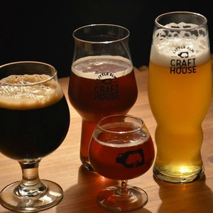 Little elm crafthouse ferries craft beer to lakeside for Little elm craft house