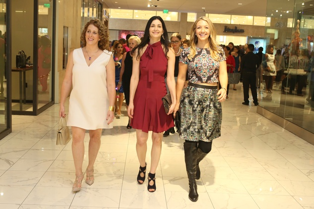 News, Shelby, Stiletto Strut, Sept. 2015 Shelly Smith Hendry, Limor Smith, Megan Hotze