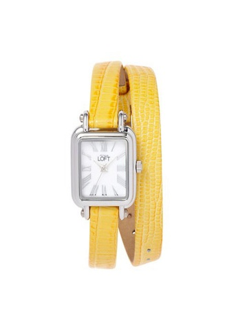 loft Square Double Wrap Watch