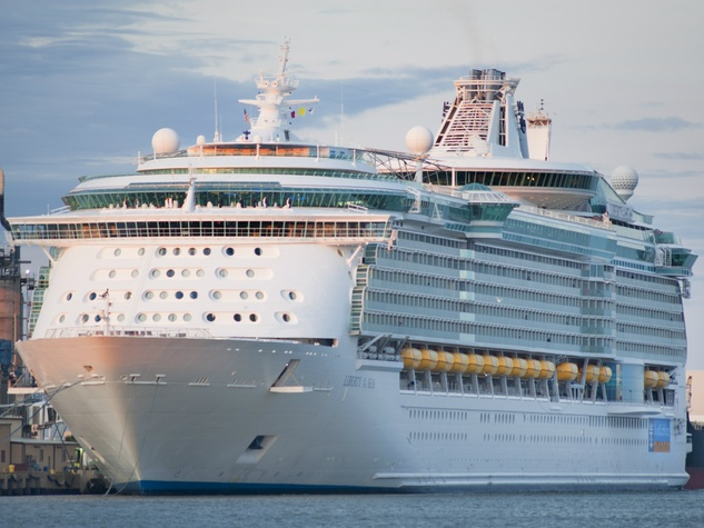 Galveston Welcomes Largest Cruise Ship To Ever Set Sail