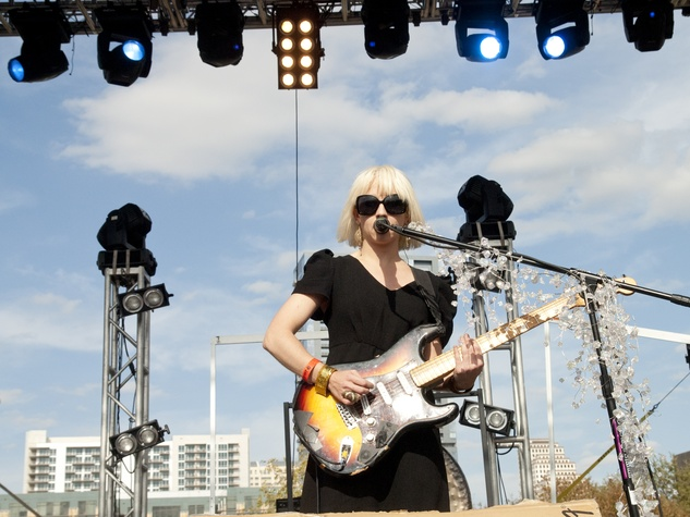 Joy Formidable at Fun Fun Fun Fest in Austin