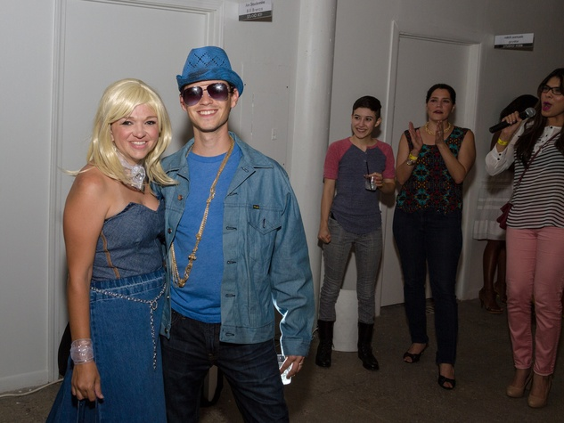 3168 Emily Vinson and Danny Fuller at Party Like a Rock Star benefiting Planned Parenthood August 2014