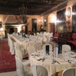 On the Market Castel Valer in northern Italy near Milan May 2014 Stables for event