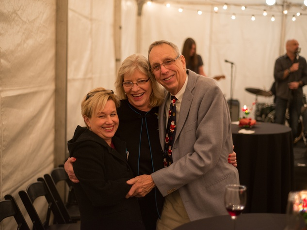 2338 88  Jeni Eldridge, from left, with Allison and Ben Joiner at the Joiner holiday party December 2013