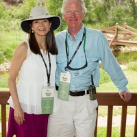 Methodist Hospital event in Aspen July 2013 Paula Walter and Rusty Walter-McCoy Ranch Event