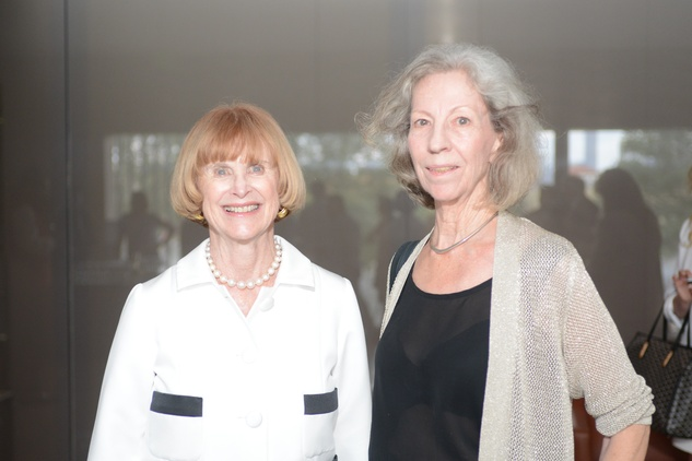 18 Nancy Allen, left, and Patricia Johnson at the HFAF Launch at the Asia Society June 2014
