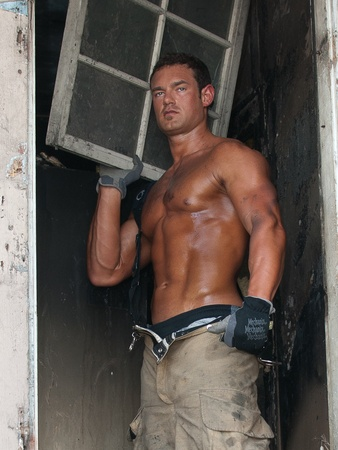 Marcy, most eligible, Trent Vann, firefighter, November 2012