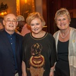 Donald Sweeney, from left, Michelle Breedt and Rhonda Sweeney HGO The Passenger party in NYC July 2014