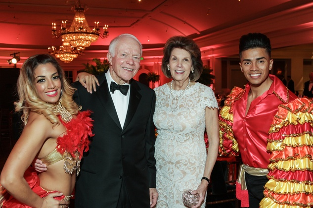 News, Shelby, Good Samaritan Pearl Ball, Feb. 2015, Thurman and Lilly Andress