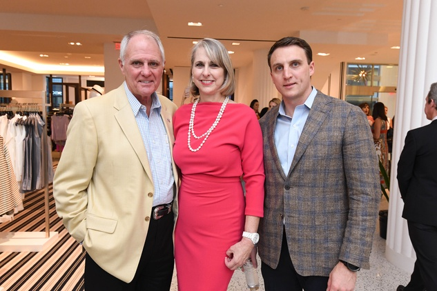 Fashion Gene Event, 5/16 Dick Hansen, Susan Hansen, Jason Arnoldy