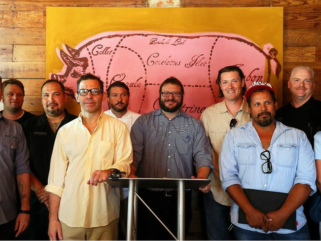 Chef lineup at Meatopia Texas