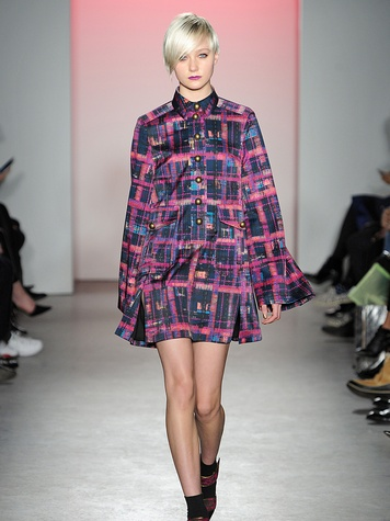 Clifford New York Fashion Week fall 2015 Nanette Lepore March 2015 Look 14